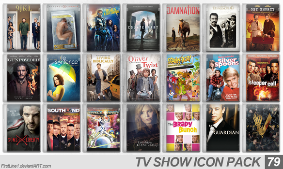 TV Show Icon Pack 79 by FirstLine1