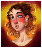 Sunset Babey   Art Fight by All-The-Fish-Here