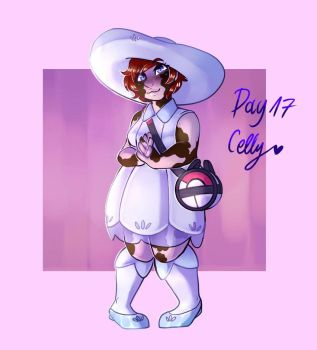 Day 17 - Lillie from pokemon sun and moon by paragonkell80