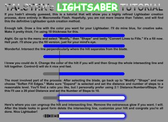 Making Nice Lightsabers Quick by talster