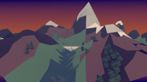 Low poly fun (angle 1) by Thierry-ThefoxGamer