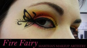 Fire Fairy Eyeshadow by EmoMadaraUchiha