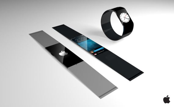 Apple iWatch Concept by therealghostclown