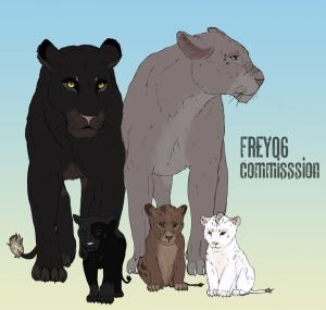CM46-Soulofthedoomed-lions by Frey06