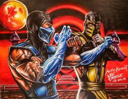 Mortal Kombat by JPKegle