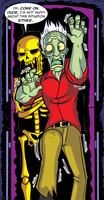 Drawlloween 2016, October 25th - Entombed Tuesday by MichaelJLarson