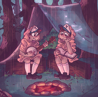Camp loose-ends by iLee-Font