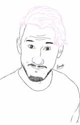 Markiplier Bubblegum hair by meerkat--love