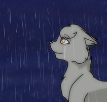 In the Rain by EchosOnceLost