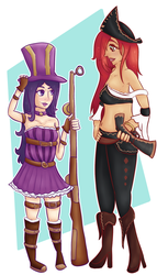 Welcome to the Gun Show +Caitlyn - Miss Fortune+ by Managodess