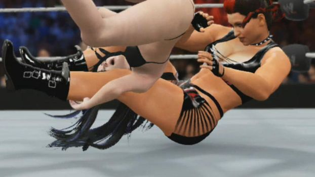 Paige Piledriven 3 by HumiliationWrestling