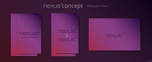 Nexus 5 Concept Wallpaper Pack by Tecior