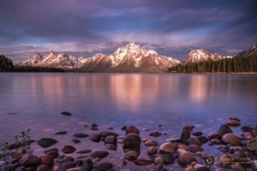 Colter Bay Sunrise 5347 by pesterle