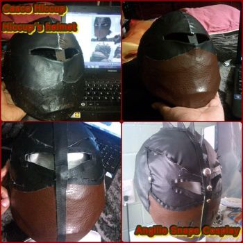 Hiccup Helmet by AngilieSnape