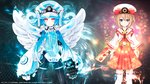 Next White Heart and Blanc [Superdimension] by Tomoe-Waterfox