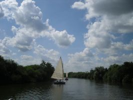 Stock: Sailing Boat 1 by legendpendragon9