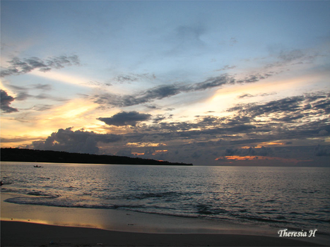 Bali Sunset by cerulean88