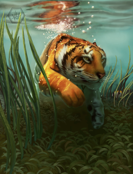 the tiger by alannahowe