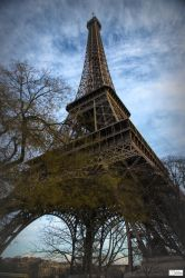 Paris the city  of lights - another view by Rikitza
