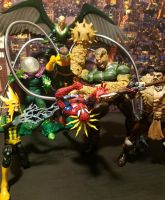 The Sinister Six strike! by ThePrincessRobotRoom