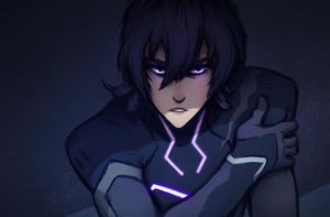 Keith and The Suit - (Voltron S2 Spoilers) by kuiwi