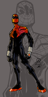 (Joey Vazquez) Superior Spider-man sketch colors by Chris-Isakson27