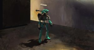 Still Life - Green Canti by Zaziky