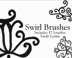 Swirl Brushes by Lovegreen13