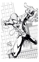 Avila spiderman inks by TonyKordos