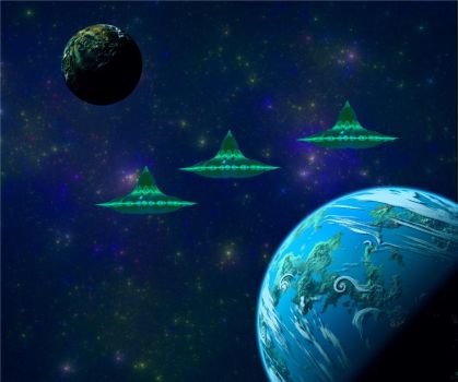 Green Invaders by AngeloVentura