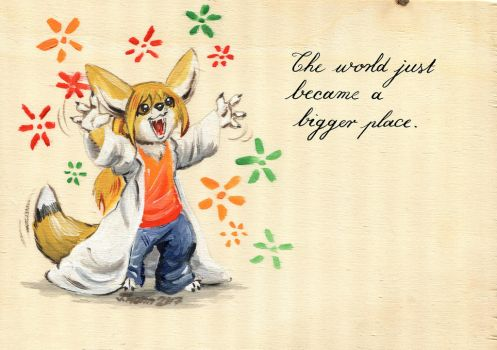 The World Became a Bigger Place by Cervelet