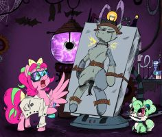 Halloween Commission - It's Alive! by Pimander1446