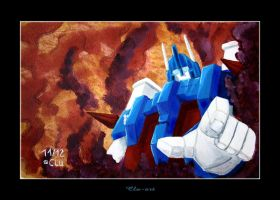 Ultra Magnus in acrylics by Clu-art