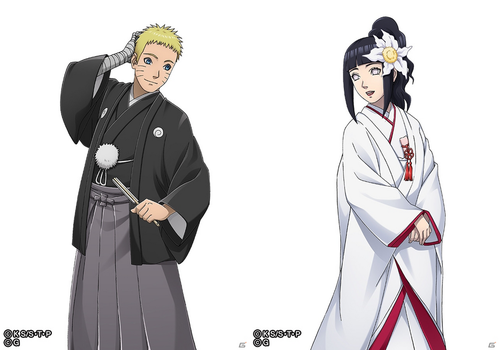 NaruHina Wedding by AiKawaiiChan