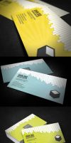 Drip Business Card + QR Code by glenngoh
