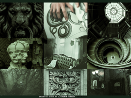 Collected Stock #4 Slytherin Dungeon by cherimilk