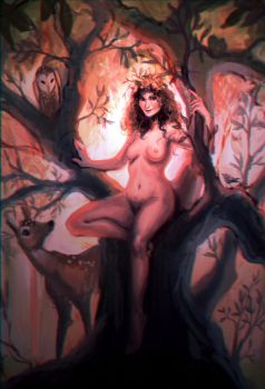 Dryad by soapybubbles3