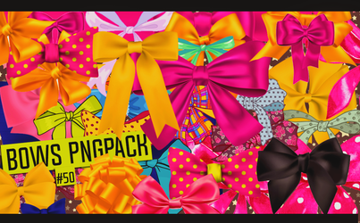 Bows Pngpack #50 by LilithDemoness