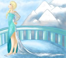 Snow Queen Elsa by Hikanami