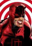 DareDevil water color 2 by nic011