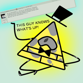 He Knows by G-F--Ask-Bill-Cipher