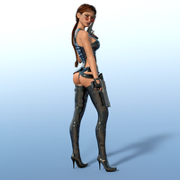 Mini Catsuit 1 by tombraider4ever
