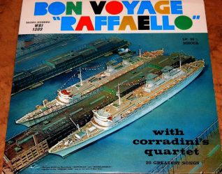 1966 Bon Voyage Raffaello Record Album by wildelf34