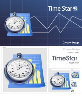 Time Star icon by rachel1009