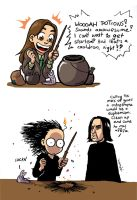 First day at Pottermore by Koumaki