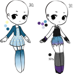 Closed - Adopts 30-31 by Tokie-S