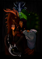 The Goddess Tiamat by Domaex