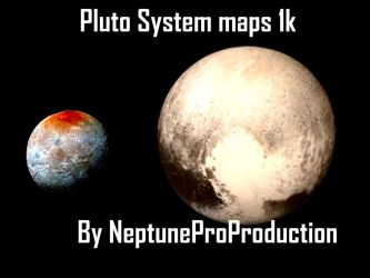 Pluto System Maps by NeptuneProProduction