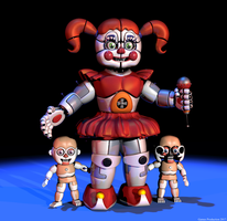 Circus Baby and Bidybabs by GamesProduction