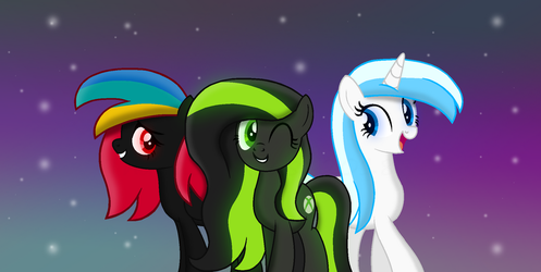 The Console Ponies by Thunder-Artist